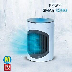 Livington SmartChill | kompaktes Luftkühlsystem | 3 Geschwindigkeits-Kühlstufen