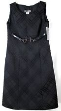 NWT Jolibel Career Women's 10 Sleeveless Side Zipper Little Black Dress