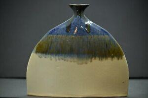 Mangum Pottery Flounder Vase Vintage