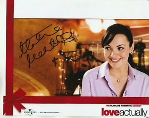 """MARTINE MCCUTCHEON AUTOGRAPH SIGNED 10X8"""" PHOTO  (SOME DENTS IN THE PHOTO) 55"""