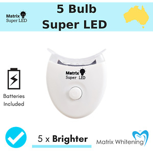 TEETH WHITENING LIGHT - Super Blue LED 5X Brighter Lamp Faster Activation