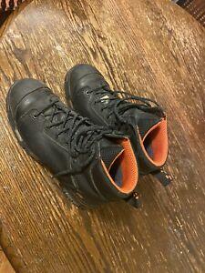 Timberland Black Boots Still Toe