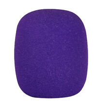 10 Colors Handheld Stage Microphone Windscreen Foam Mic Cover V9p Purple