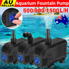 Submersible Fish Tank Pond Pump Aquarium Water Pump Fountain 500 900 1500 LPH