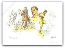 Ex-libris André Juillard L'indienne 150ex signé 20x28 cm