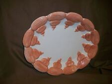 (Imperfect) Fitz & Floyd 1976 Sea Shell Plate