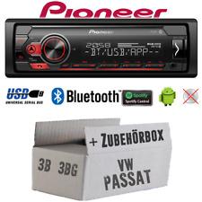 Autoradio Pioneer für VW Passat 3B+3BG Bluetooth Spotify MP3 USB Andr. Einbauset