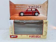 Mondo Motors Renault 5 Maxi Turbo Vintage Red. 1:43