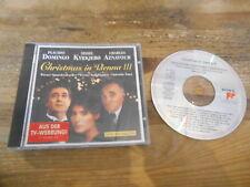 CD VA Christmas In Vienna III (14 Song) SONY CLASSICAL jc Domingo Aznavour