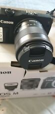 Canon EOS M 18.0 MP Digital Camera Kit,  EF-M 18-55mm plus zoom lens,mount adap