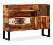 Vintage Industrial Sideboard Side Cabinet Furniture Rustic Retro Style Steel Leg