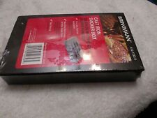 NEW BRINKMANN Cast Iron Barbecue BBQ Smoker Smoke Box for Gas Grill Wood NEW