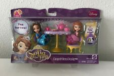 DISNEY JUNIOR PRINCESS SOFIA THE FIRST ROYAL TEA PARTY PLAYSET WITH JADE - NEW!!