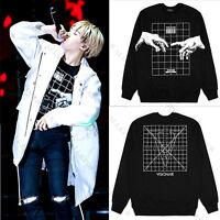 KPOP BTS Suga Sweater Bangtan Boys Hoodie Unisex Sweatershirt Merchandise Coat