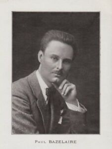 FRENCH CELLIST PAUL BAZELAIRE (1886-1958) CD