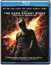NEW BLU RAY - THE DARK KNIGHT RISES - Christian Bale, Anne Hathaway, Tom Hardy