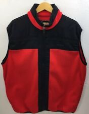OBERMEYER Mens SKI VEST Sweater Vest Fleece Full Zip XL W/ Flaw