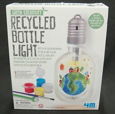 Green Creativity Recycled Bottle Light Kids Science Craft Kit NIB
