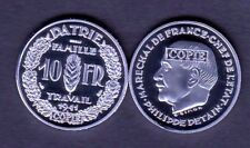 ★★★★ JOLIE COPIE DE L'ESSAI NICKEL DE SIMON DE LA 10 FRANCS 1941 PETAIN ★★★★