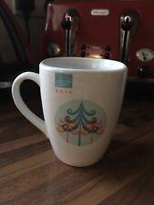 Collectible 2014 Manchester Christmas Markets Ceramic Mug - Blue/white/orange