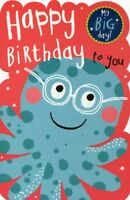 Happy Birthday To You Greeting Card With Badge Childrens Greetings Cards