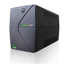 GRUPPO DI CONTINUITA' UPS 550VA ELSIST PC TV HIFI STABILIZZATORE TENSIONEHOME550