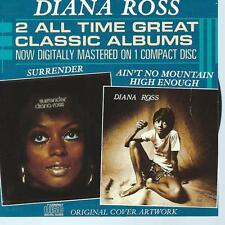 CD album DIANA ROSS - 2 ALL TIME GREAT ALBUMS on 1 CD