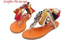 Scarfies Tie me up Sandals