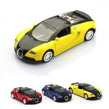 1:36 Alloy Car Model Bugatti Veyron Diecast Collection with Sound&Light Toy