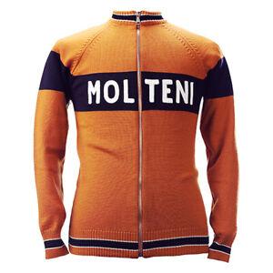 Magliamo's Molteni Team Merino Wool Track Top