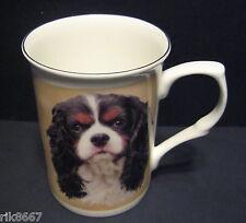 King Charles Spaniel Tricolour dog Fine Bone China Mug Cup Beaker