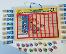 Mickey Mouse Magnetic Chore Chart Melissa & Doug 22 chores, 2 blank, 32 markers