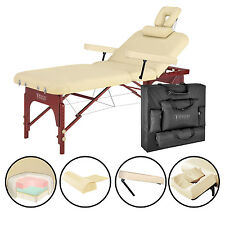 Master Massage 31 inch SpaMaster Salon Spa Portable Folding Backrest Table Bed