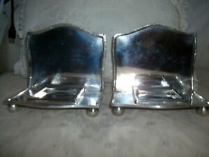 Tea light stands   reflective,  sold as a pair