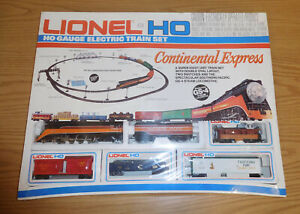 LIONEL HO GAUGE 5-2684 SOUTHERN PACIFIC GS-4 TRAIN SET CONTINENTAL EXPRESS SEAL