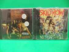 Skid Row CD LOT Slave To The Grind 1991 W/Banned Song & B Sides Sebastian Bach