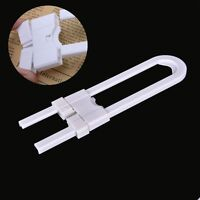 1pcs Child Infant Baby Kid Safety Drawer Door Cabinet U Shape Lock  For Baby