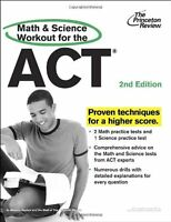 Math and Science Workout for the ACT, 2nd Edition (College Test Preparation) by