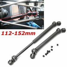 1 Pair Heavy Duty Steel Drive Shaft For Wraith Axial SCX10 112mm to 152mm Black