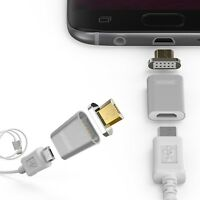 Snap Adapter Android Anschluss Magnetischer Stecker Micro USB Android Samsung