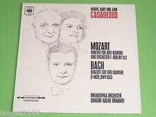 Mozart Bach - Casadesus Ormandy - Konzert für 3 drei Klaviere# - CBS LP