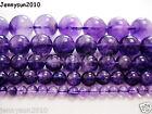 Grade A Natural Amethyst Gemstone Round Beads 16'' 2mm 3mm 4mm 6mm 8mm 10mm 12mm