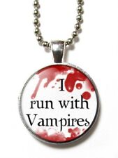 Magneclix magnetic pendant-Twilight - I run with vampires