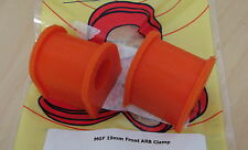 MG Rover F TF MGF MGTF Pair 2 x Front Anti Roll Sway Stabiliser Bar Bushes Poly