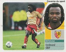 FERDINAND COLY # SENEGAL RC.LENS PARMA.FC STICKER  PANINI FOOT 2003 ~