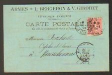 """SAINT-ETIENNE (42) USINE d'ARMES """"L. BERGERON & V. GIRODET"""" en 1904"""