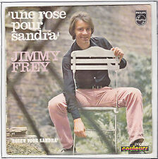 "FREY Jimmy Vinyl 45T 7"" UNE ROSE POUR SANDRA + Version FLAMANDE -PHILIPS 6130001"