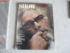Vintage June 1970 Show Film and Arts Magazine Look