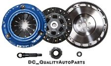 QSC Stage 2  Organic Clutch Kit Forged Flywheel fits Honda Civic 92-05 D-series