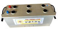 Solarbatterie 12V 180Ah Wohnmobil Camping Versorgung Boot Reha Solar Batterie